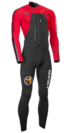Head ÖTILLÖ Swimrun Rough triathlon kleding Heren rood/zwart